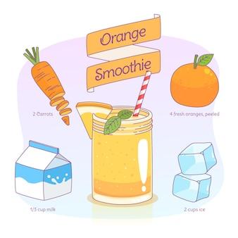 Recette de smoothie sain