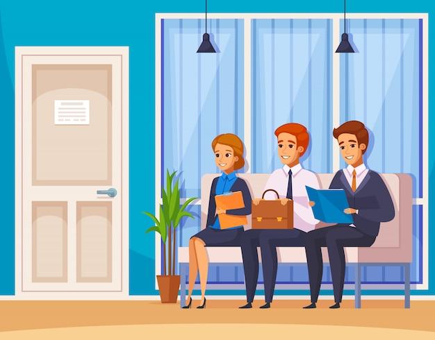Recevoir la composition de l'embauche de file d'attente