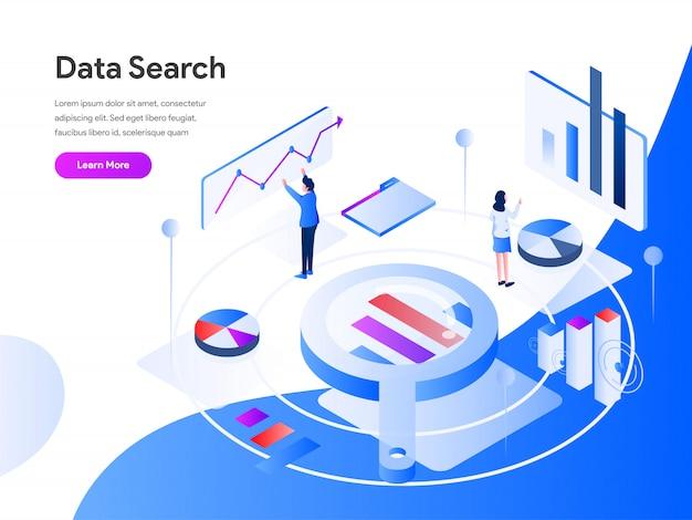 Recherche de données isométrique