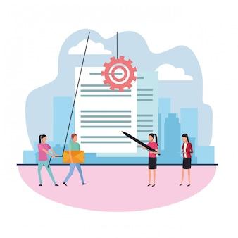 Recherche de données sur le travail d'équipe