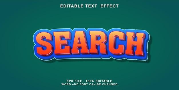 Recherche d'effet de texte modifiable