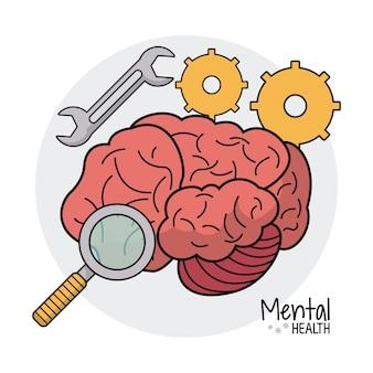 Recherche d'engins de santé mentale