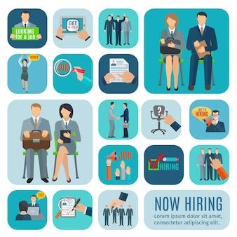 À la recherche d'icônes d'emploi