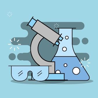 Recherche en laboratoire scientifique