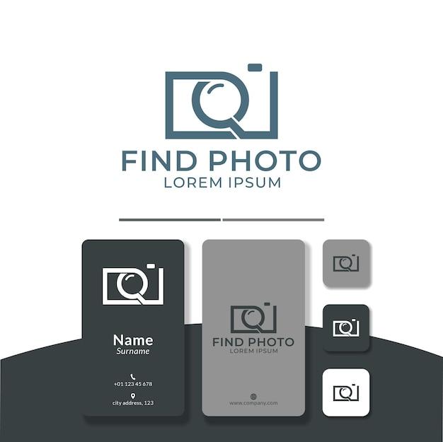 Recherche photo création de logo trouver appareil photo