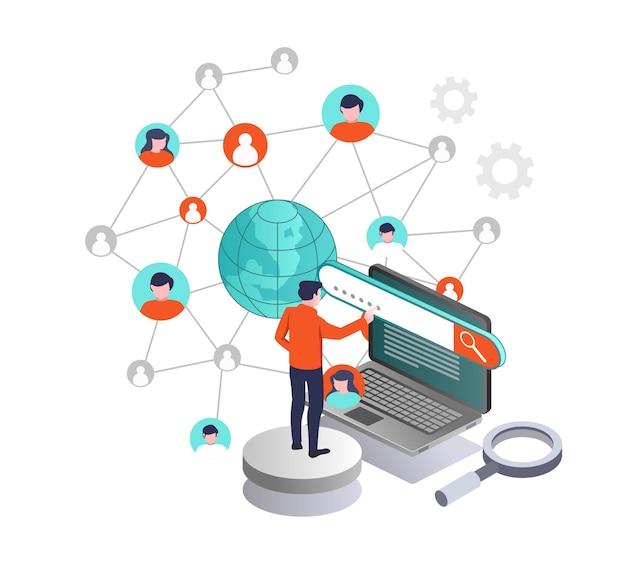 A la recherche d'un réseau d'entreprise avec internet