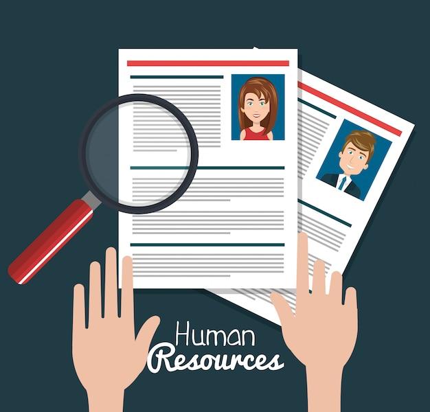 Recherche de ressources humaines isolée