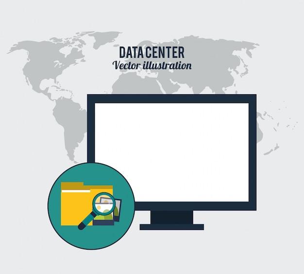 Recherche de stockage de centre de données international