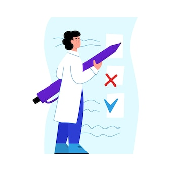 Recherche de tests médicaux et bilan de santé
