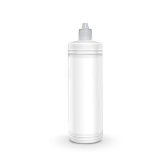 Récipient de détergent en plastique