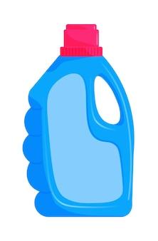 Récipient en plastique pour le lavage ou le détergent à lessive isolé