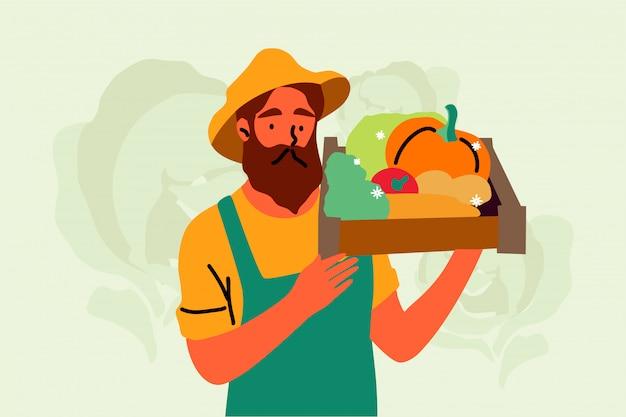 Récolte, agriculture, agriculture, concept de nature.