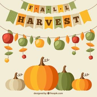 La récolte d'automne