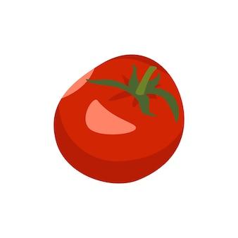 Récolte de légumes rouges d'icône de tomate entière pour faire de la pâte de tomate ou un produit alimentaire de salade pour une e...