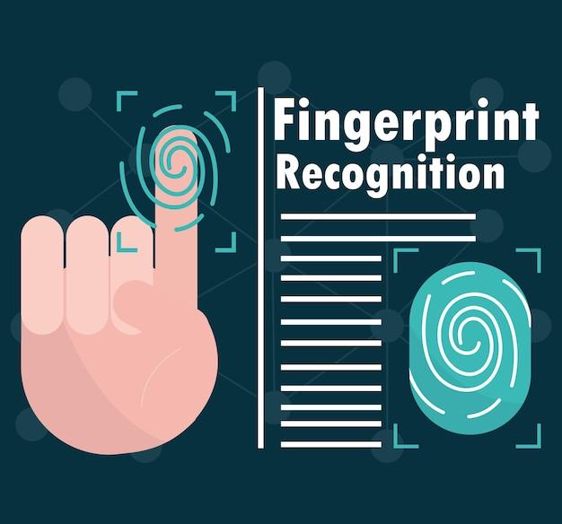 Reconnaissance biométrique des empreintes digitales