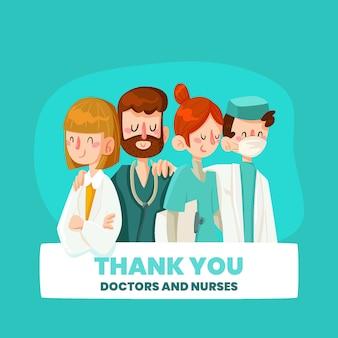 Reconnaissance des médecins et infirmières
