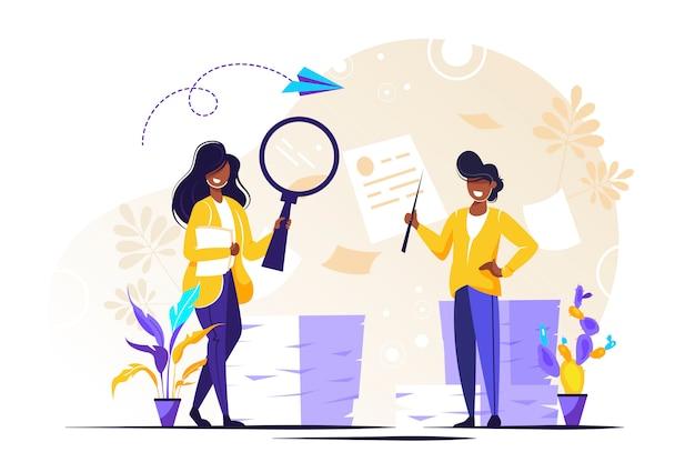 Recrutement pour page web, bannière, présentation, réseaux sociaux