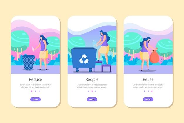 Recycler l'application pour téléphone mobile