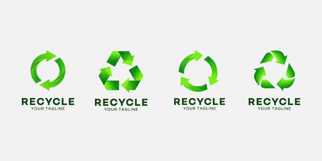 Recycler le modèle de conception de logo