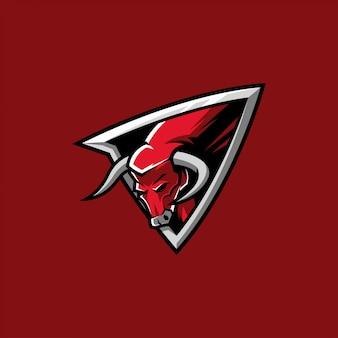 Red bull esports et logo de jeu