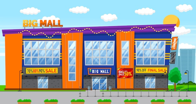 Réductions vente à big mall, vente de vacances