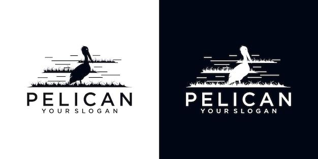 Référence du logo pelican pour les entreprises
