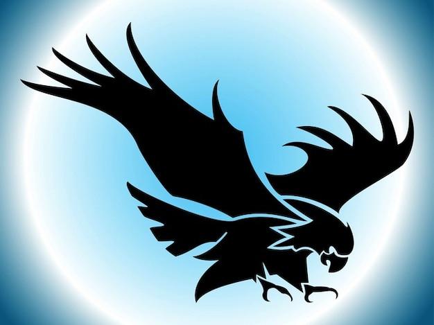 Refroidir illustration de tatouage d'aigle