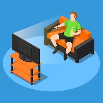 Regarder la composition de la télévision
