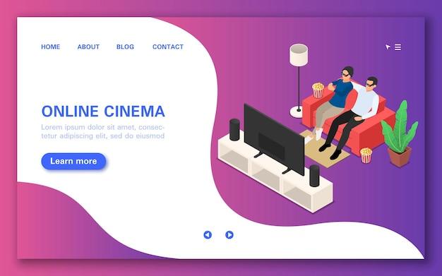Regarder des films via la page de destination de l'abonnement