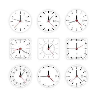 Régler l'horloge minuterie