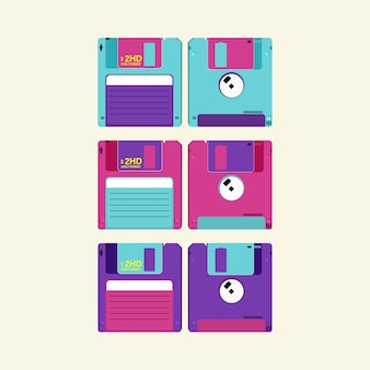 Réglez la disquette. disquette