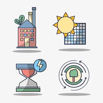 Réglez les éléments électroniques pour utiliser l'énergie