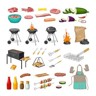 Réglez le gril du barbecue.