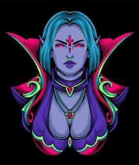 Reine femme vampire
