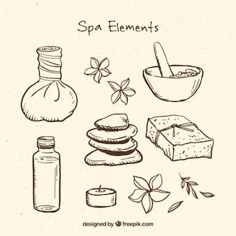 Relaxant éléments de spa
