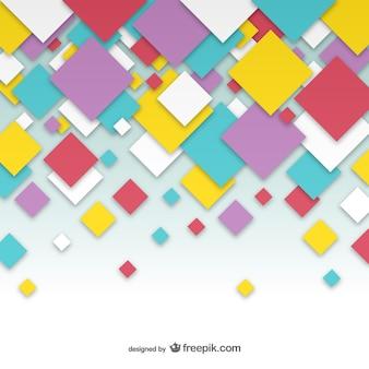 Relevant carrés abstrait