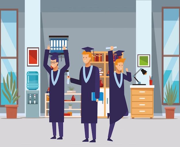 Remise des diplômes diplôme personnes