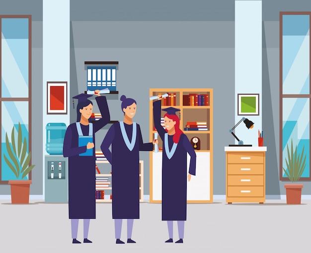 Remise des diplômes filles