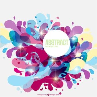Remous de couleur fond abstrait