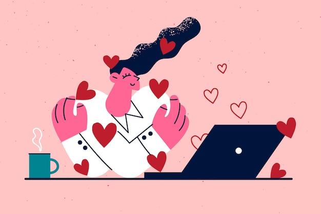 Rencontre amoureuse en ligne