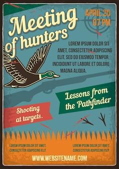 Rencontre de chasseurs