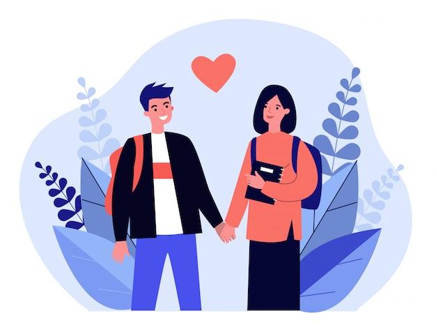 Rencontre couple d'étudiants