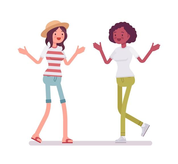 Rencontre des jeunes femmes