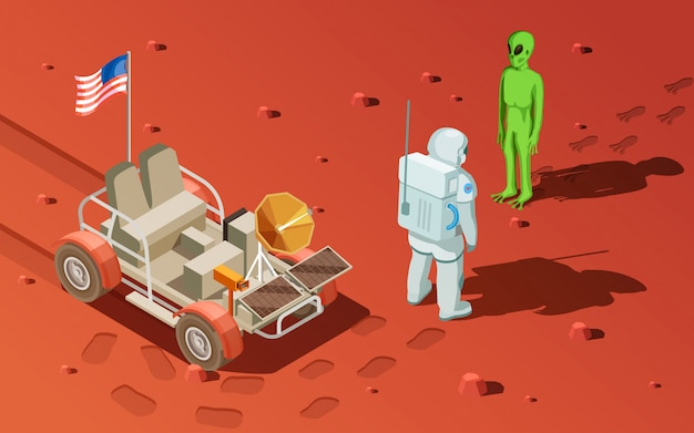 Rencontrer une composition extraterrestre