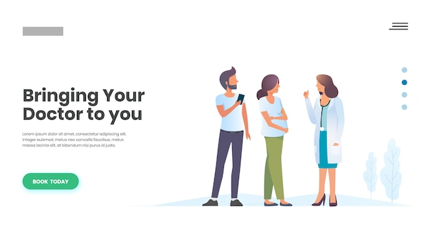 Rendez-vous chez le médecin en ligne, soins de la famille