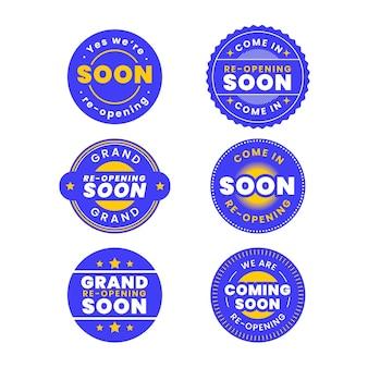 Réouverture bientôt du concept de badges