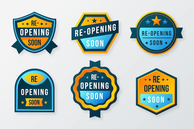 Réouverture bientôt du thème de la collection de badges