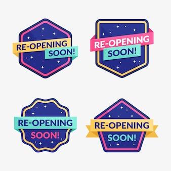 Réouverture prochaine des badges