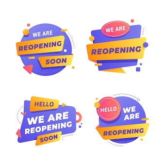 Réouverture prochaine de la collection de badges