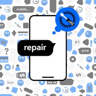 Réparation de téléphones mobiles